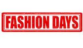 Fashion days — Vector de stock