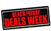 Black Friday deals week — Stock Vector