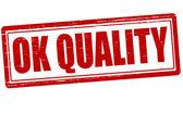 Ok kwaliteit — Stockvector