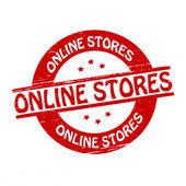 Online stores — Stock Vector