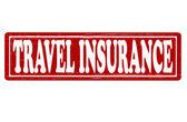 Travel insurance — Stock Vector