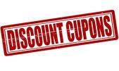 Discount cupons — Vettoriale Stock