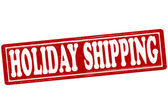 Holiday shipping — Stock Vector