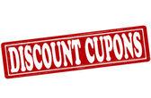 Discount cupons — Stock Vector