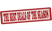 The best deals of the season — Stock Vector