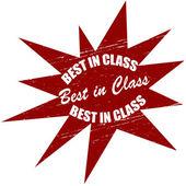 Best in class — Stock Vector