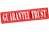 Guarantee trust — Stock Vector
