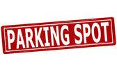 Parking spot — Stockvektor