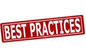 Best practices — Stock Vector
