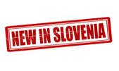 New in Slovenia — Stock Vector