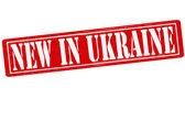 New in Ukraine — Stock Vector