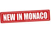 New in Monaco — Stock Vector
