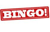 Bingo — Stock Vector