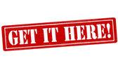 Get it here — Stock Vector