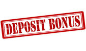 Deposit bonus — Stock Vector