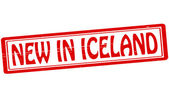 New in Iceland — Stock Vector