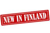 New in Finland — Stockvektor