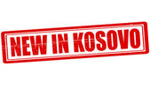 New in Kosovo — Stock Vector