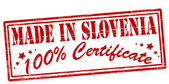 Made in Slovenia — Stock Vector