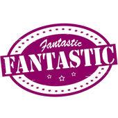 Fantastic — Stock Vector