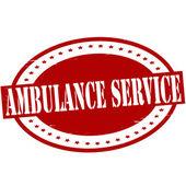 Ambulance service — Stock Vector