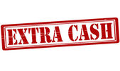 Extra geld — Stockvector