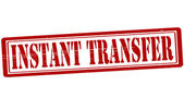 Instant transfer — Stock Vector