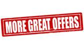More great offers — Vector de stock