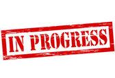 In progress — Stock Vector