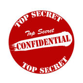 Confidential — Stock Vector
