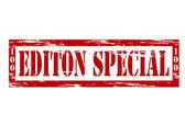Edition special — Vettoriale Stock