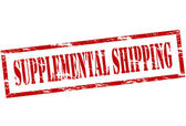 Supplemental shipping — Stock Vector