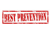 Best prevention — Stock Vector