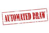 Sorteggio automatizzato — Vettoriale Stock