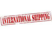 International shipping — Stock Vector