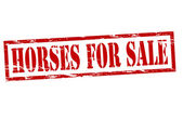 Horses for sale — Vettoriale Stock