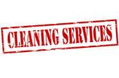 Die Reinigung von Dienstleistungen — Stockvektor