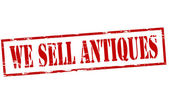 We sell antiques — Wektor stockowy
