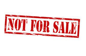 Satılık değil — Stok Vektör