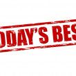 Today s best — Stockvector
