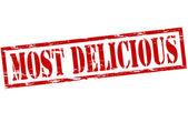 Most delicious — Vettoriale Stock