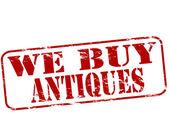 骨董品を購入します。 — ストックベクタ