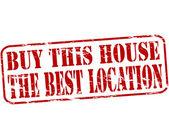 Comprar la casa — Vector de stock
