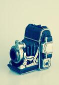 Vintage camera bank — Stockfoto
