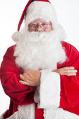 Santa clause smiling — Stock Photo