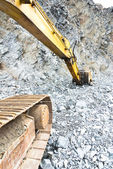 Machines in mining industry — Stock Photo