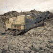 Machines in mining industry - Foto Stock