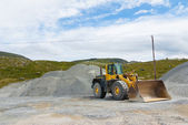 Work at quarry — Stock Photo
