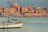 Valetta the capital of Malta — Stock Photo