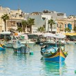 Fishing village of Marsaskala, Malta — Stock Photo #15898123